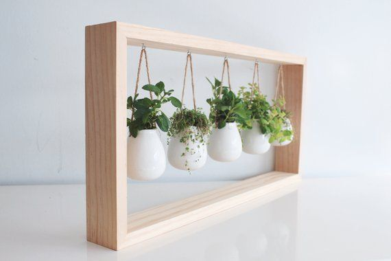 Beau Indoor Hanging Herb Garden