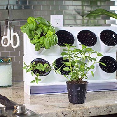 Watex Pixel Garden Desktop Kitchen Farm White