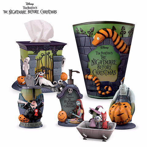 nightmare before christmas bath accessories set