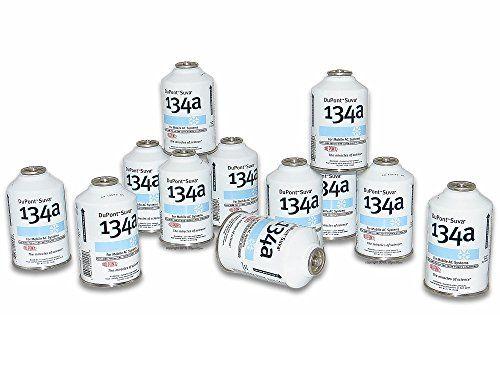 Chemours DuPont Suva 134a Refrigerant, 12 oz , Pack of 12