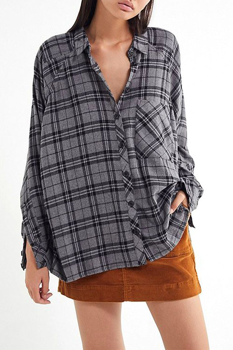 ab42cbec47b 9 Best Womens Flannel Shirts for Fall 2018 - Cute Flannel   Plaid Shirts  for Women