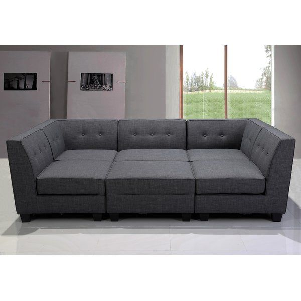 2 BestMasterFurniture Modular Sectional