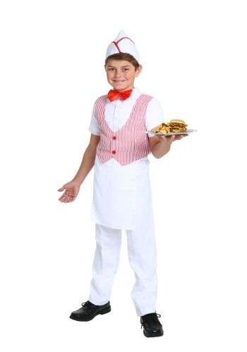 50s car hop costume for boys halloweencostumescom 1999