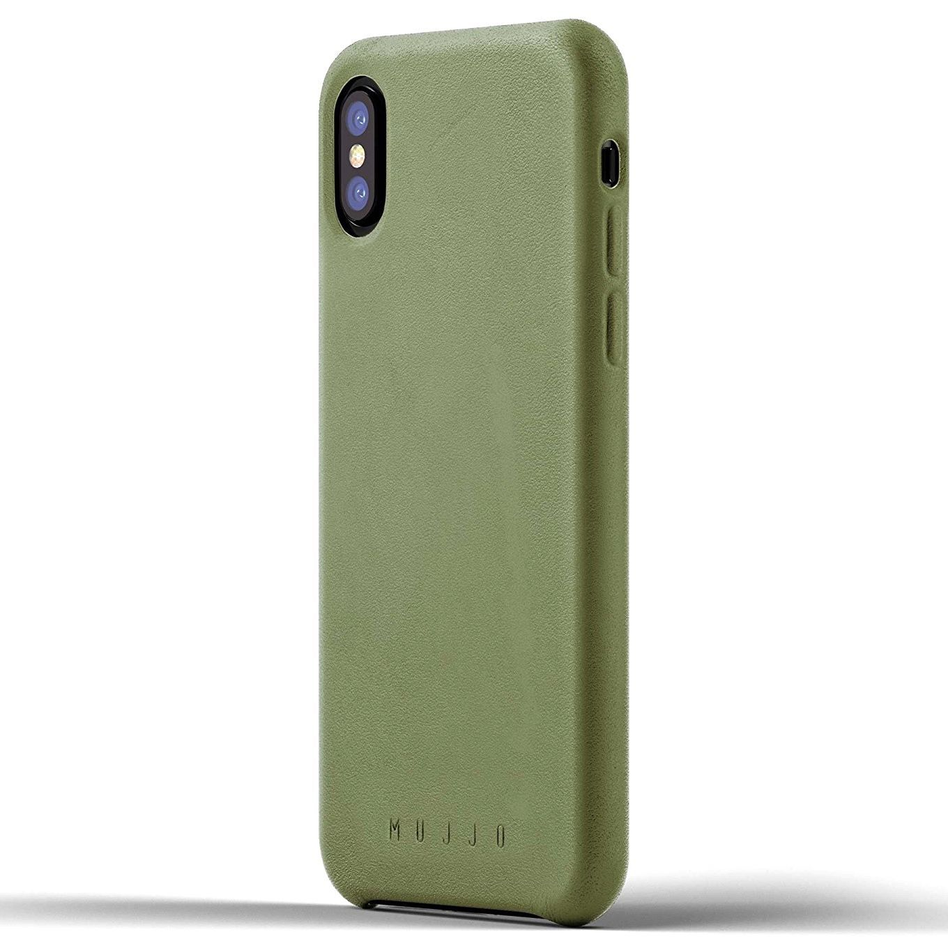 huge discount 7bd07 3341b Mujjo Slim Leather Case for iPhone X/Xs