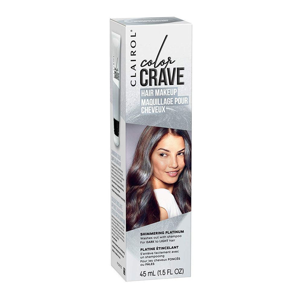 Clairol Color Crave Hair Makeup In Shimmering Platinum