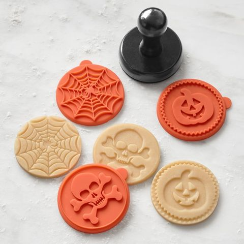 halloween silicone cookie stamps williams sonomacom 499