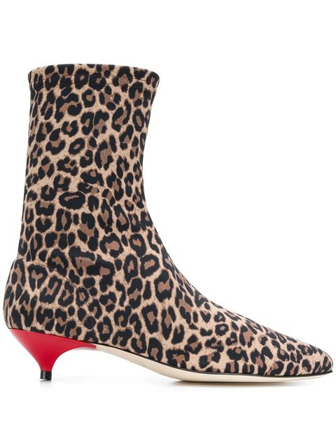 40b54c9cebaba Leopard Sock Boots. Gia Couture farfetch.com. $201.30. SHOP NOW