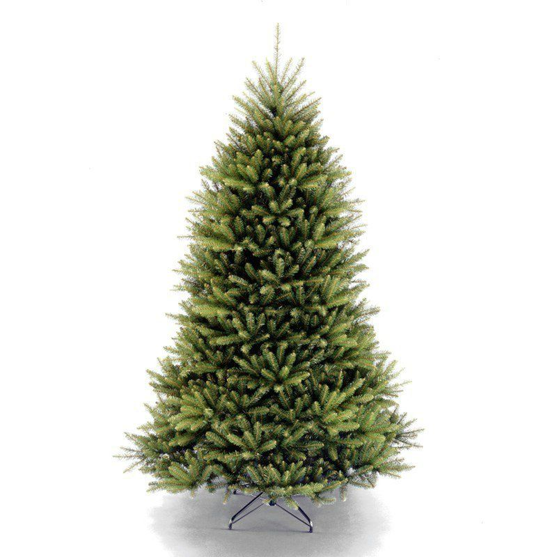 11 Best Artificial Christmas Trees for 2018 - Fake Christmas Trees With  Lights - Beachcrest Home Fir 7-Foot Green Artificial Christmas Tree
