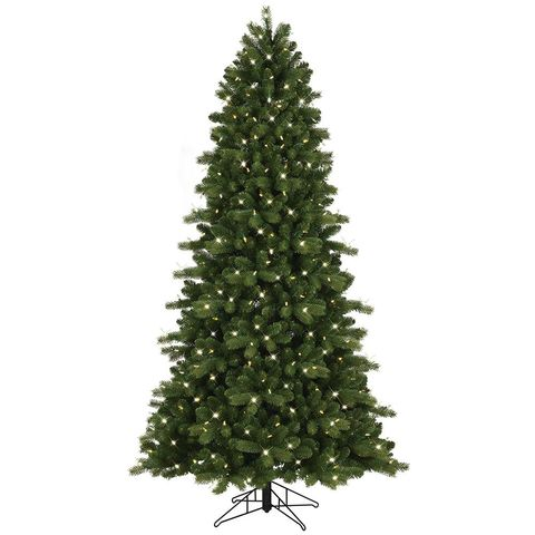 1 ge color choice 75 foot ez light just cut colorado spruce tree
