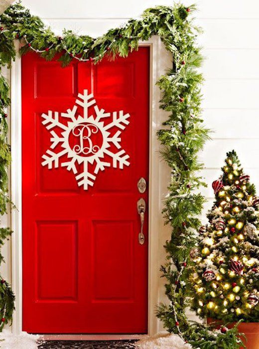 35 christmas door decorating ideas best decorations for your front door