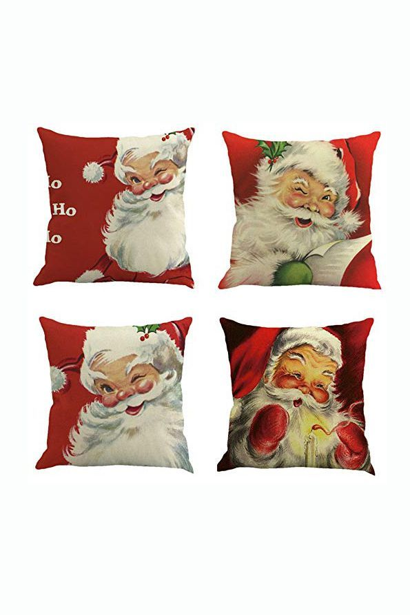 fa3b2c4608 20 Christmas Pillow Covers - Best Holiday Throw Pillows and Covers