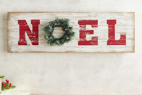 noel shiplap wall decor - Christmas Wall Decor