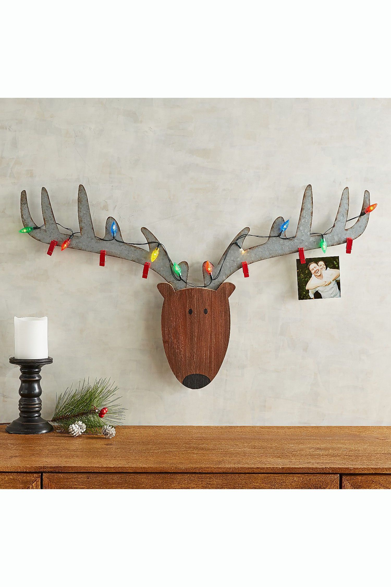 Reindeer Photo Holder