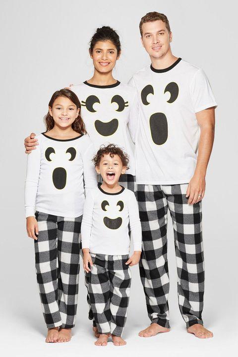 matching family toddler halloween pajamas