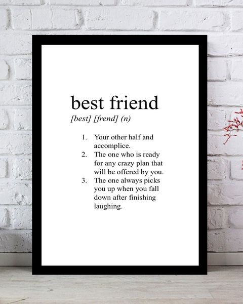 10 Best Friend Definition Print