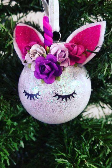 20 Unicorn Ornaments How To Diy Or Buy Fun Christmas