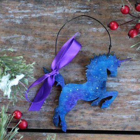 Rainbow Unicorn 2021 Christmas Ornament 30 Best Unicorn Ornaments Buy Or Make Glitter Unicorn Ornaments