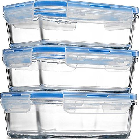 Finedine Gl Meal Prep Containers