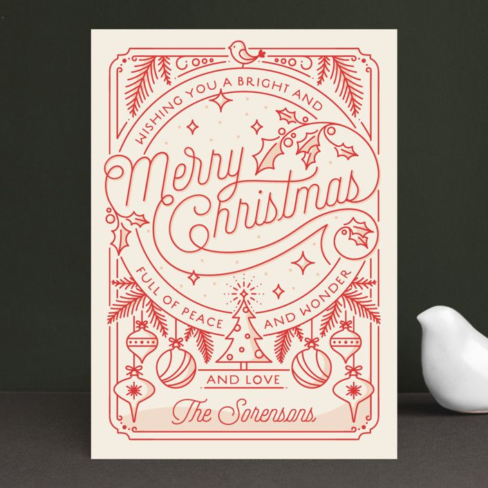 Christmas Cards Images.Merry Little Card