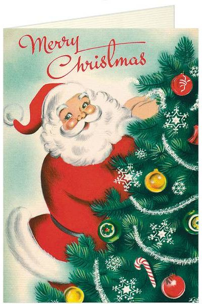 15 classic christmas card ideas retro and vintage holiday paper source m4hsunfo