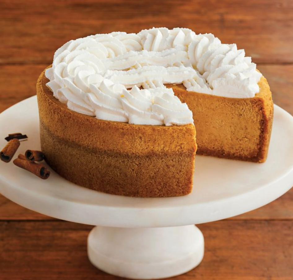 Pumpkin Cheesecake Is Back At Cheesecake Factory The Cheesecake Factory S Seasonal Cheesecake Flavors