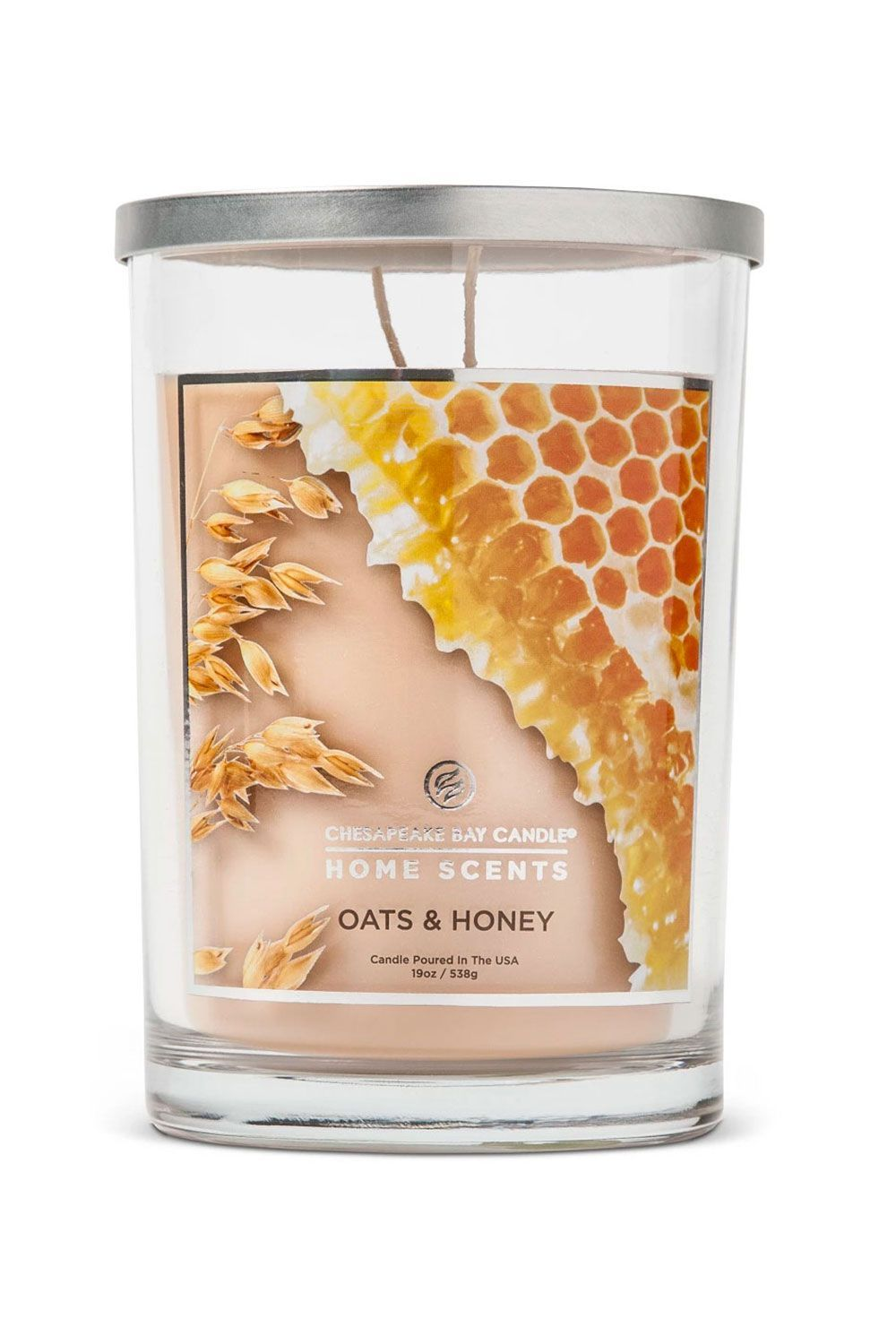 Home Scents Candle Oats & Honey