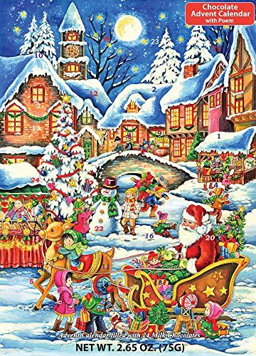 Santas Here Chocolate Advent Calendar
