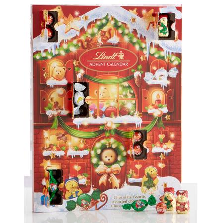 Godiva Advent Calendar.Lindt Bear Advent Calendar