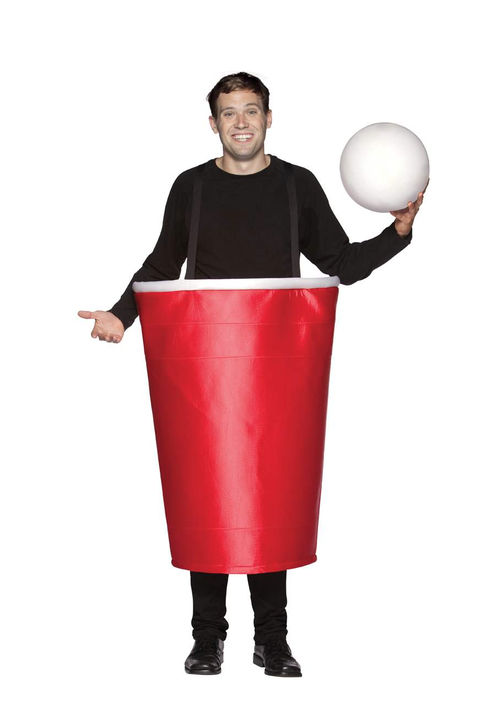 beer pong cup funny costume for men