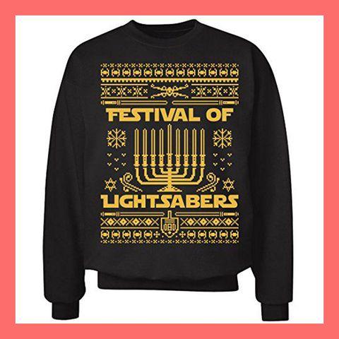 e9769569 8 Best Hanukkah Sweaters 2018 - Ugly Hanukkah Sweater Ideas