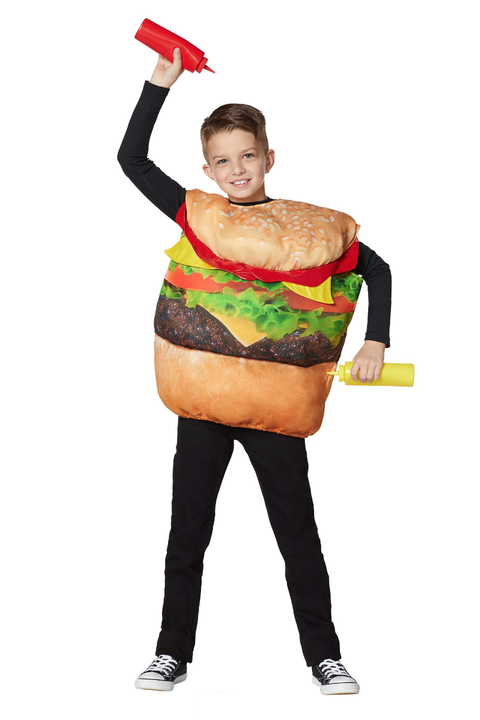 kids cheeseburger costume