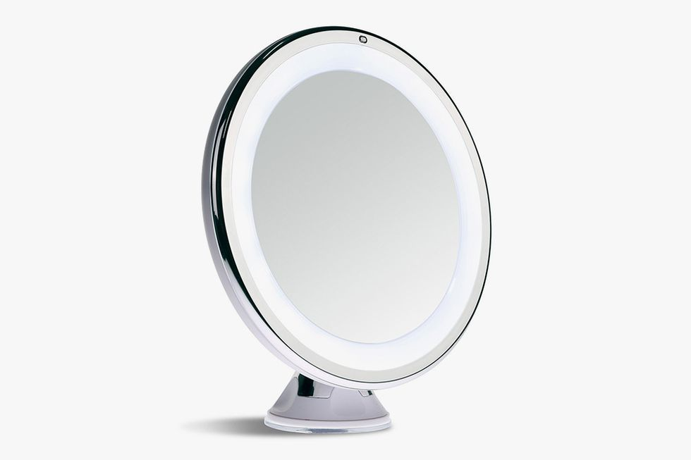 4 led lights mirror circle sanheshun 7x magnifying lighted makeup mirror 10 best mirrors in 2018 and vanity