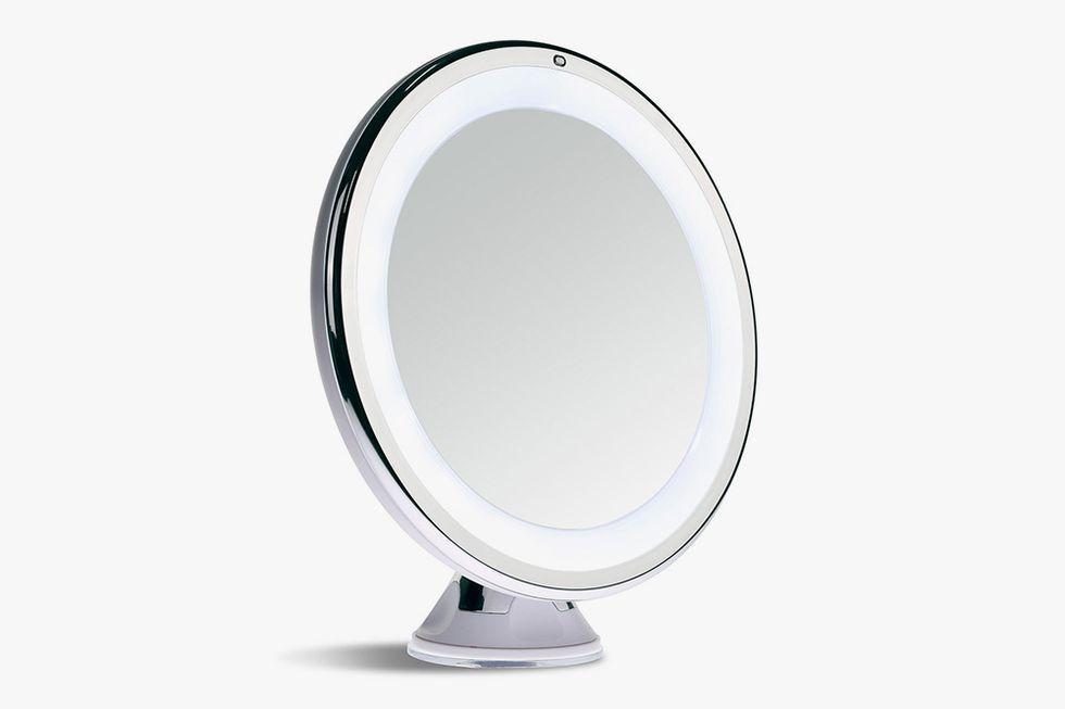 Lighted Makeup Mirror.Sanheshun 7x Magnifying Lighted Makeup Mirror
