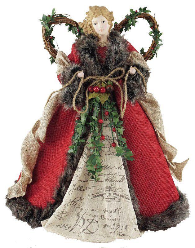 Christmas Angel Tree Topper.Angel Tree Topper