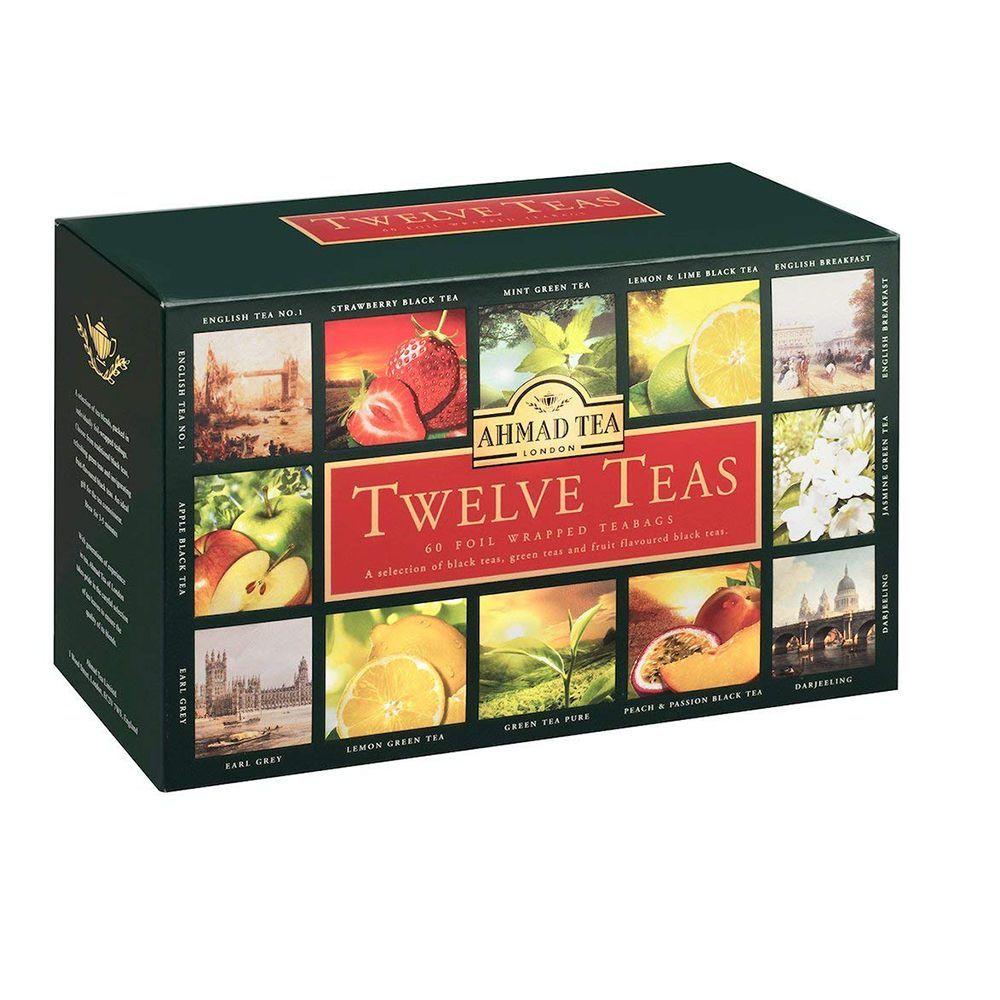 Ahmad Tea Twelve Teas Variety Gift Box