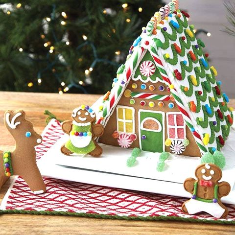 Christmas Gingerbread House Decorations.7 Best Gingerbread House Kits To Buy For Christmas 2018