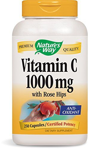 Nature's Way Vitamin C with Rose Hips