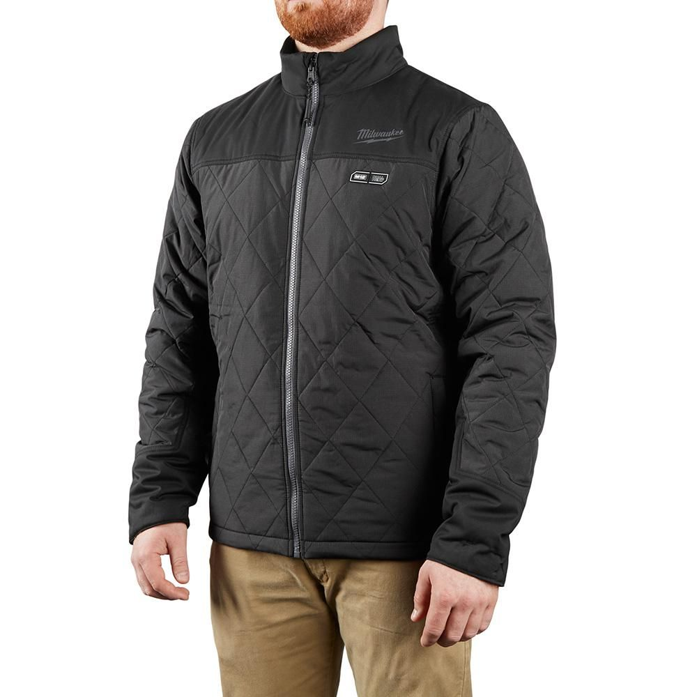 Milwaukee Men's M12 AXIS Heated Quilted Jacket Kit