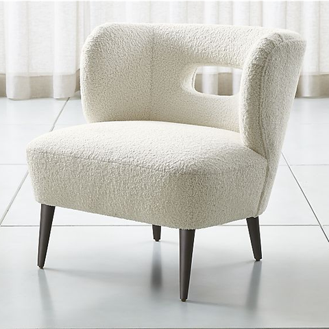 Magnificent 10 Shearling Chairs That Will Give Your Home A Cozy Vibe Onthecornerstone Fun Painted Chair Ideas Images Onthecornerstoneorg