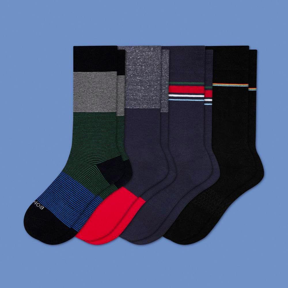 Funny Christmas Gifts For Boyfriend.Bombas Men S Mixed Dress Socks 4 Pack