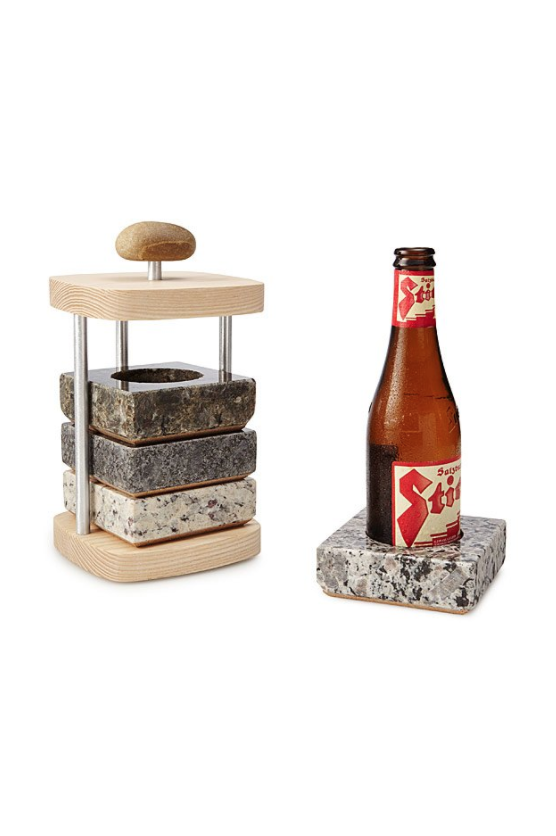 Cool Christmas Gift For Dad.Beer Bottle Chilling Coasters