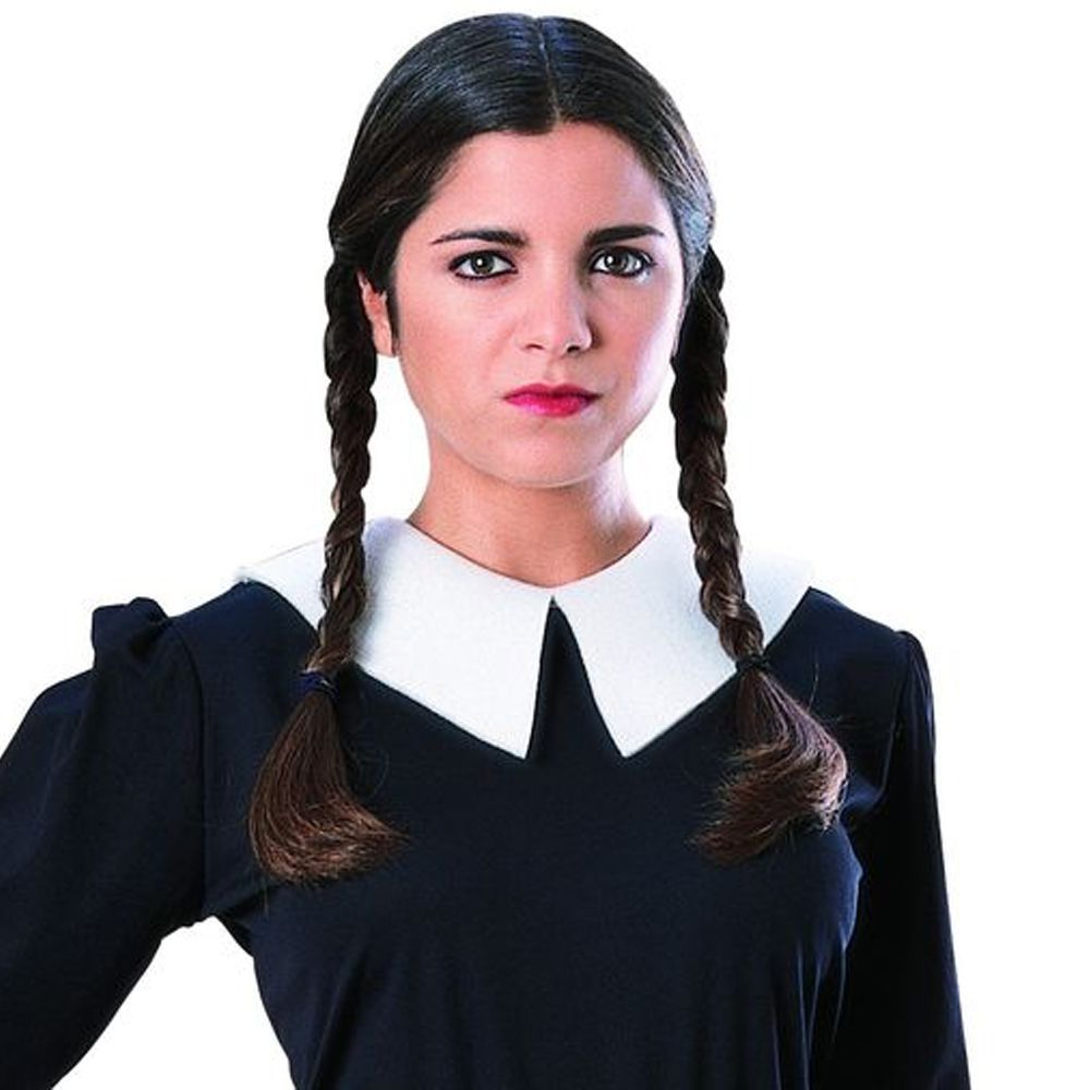 Rubie S Costume The Addams Family Wednesday Wig