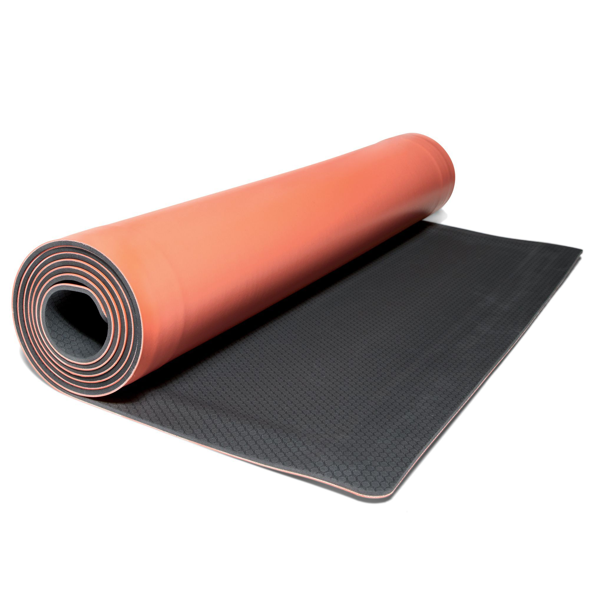 This Genius Exercise Mat Rolls Itself Up Like A Slap Bracelet