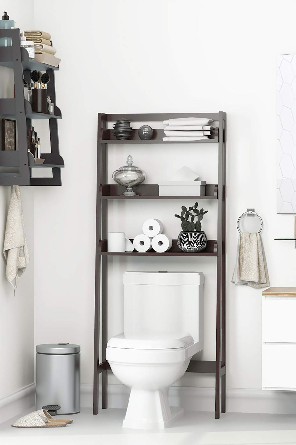 Over-the-Toilet Shelves