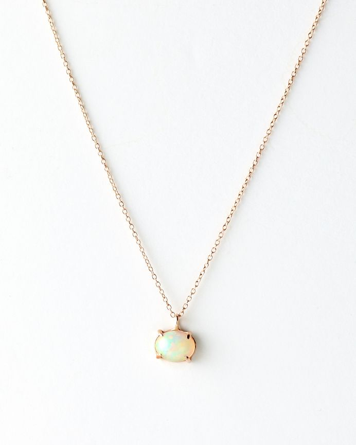 The Classic Opal Necklace