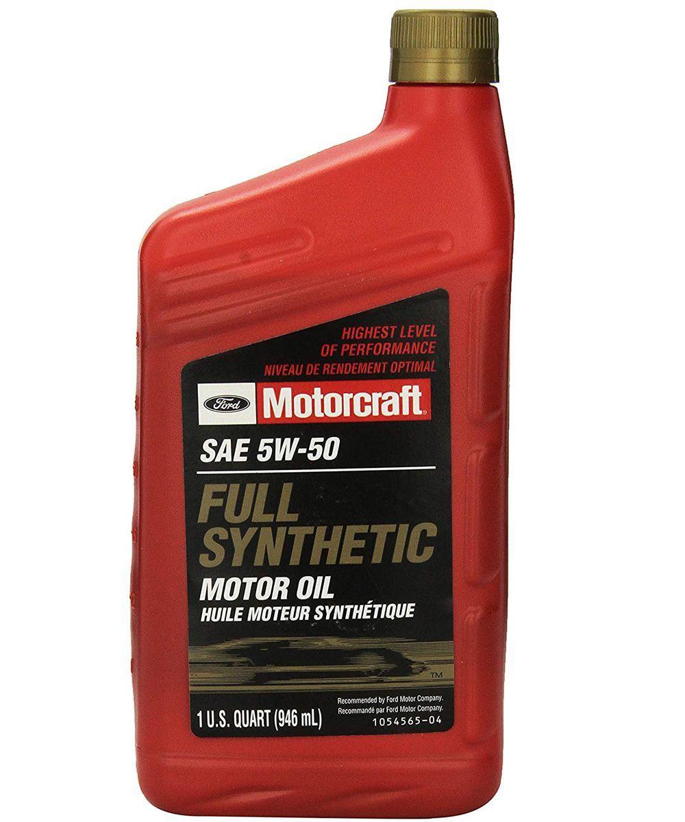 Motorcraft Full Synthetic 5W-50