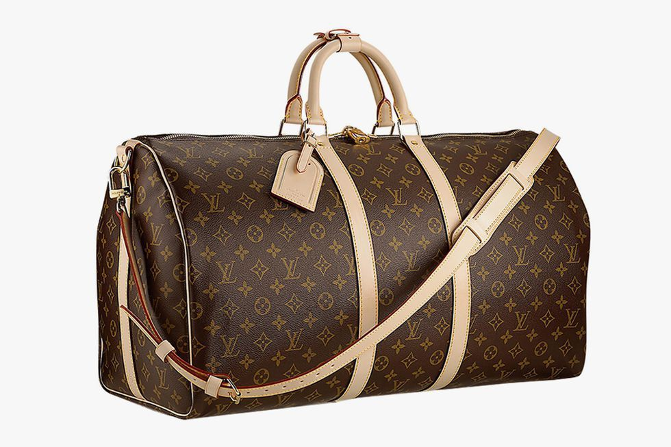 Louis Vuitton Keepall Bandoulière 55 Weekender Bag