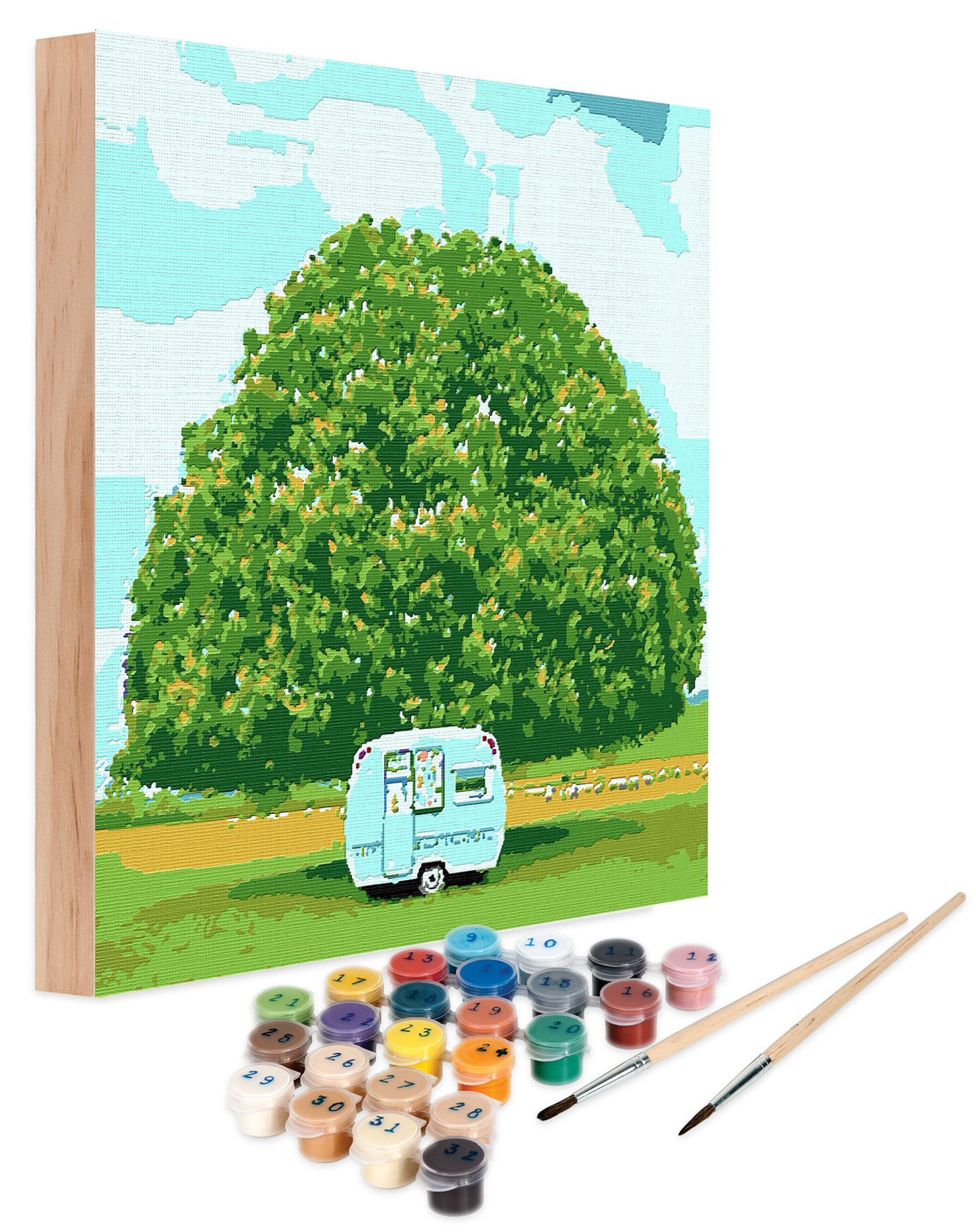Country Living Paint By Number Kits
