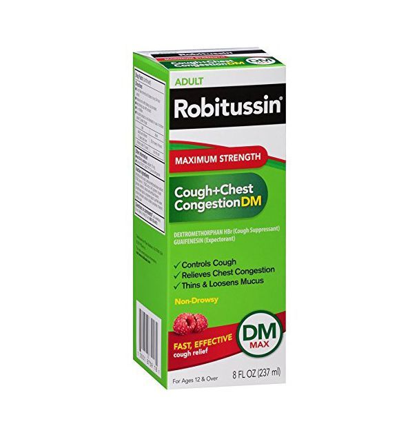 Robitussin Cough + Chest Congestion DM Max