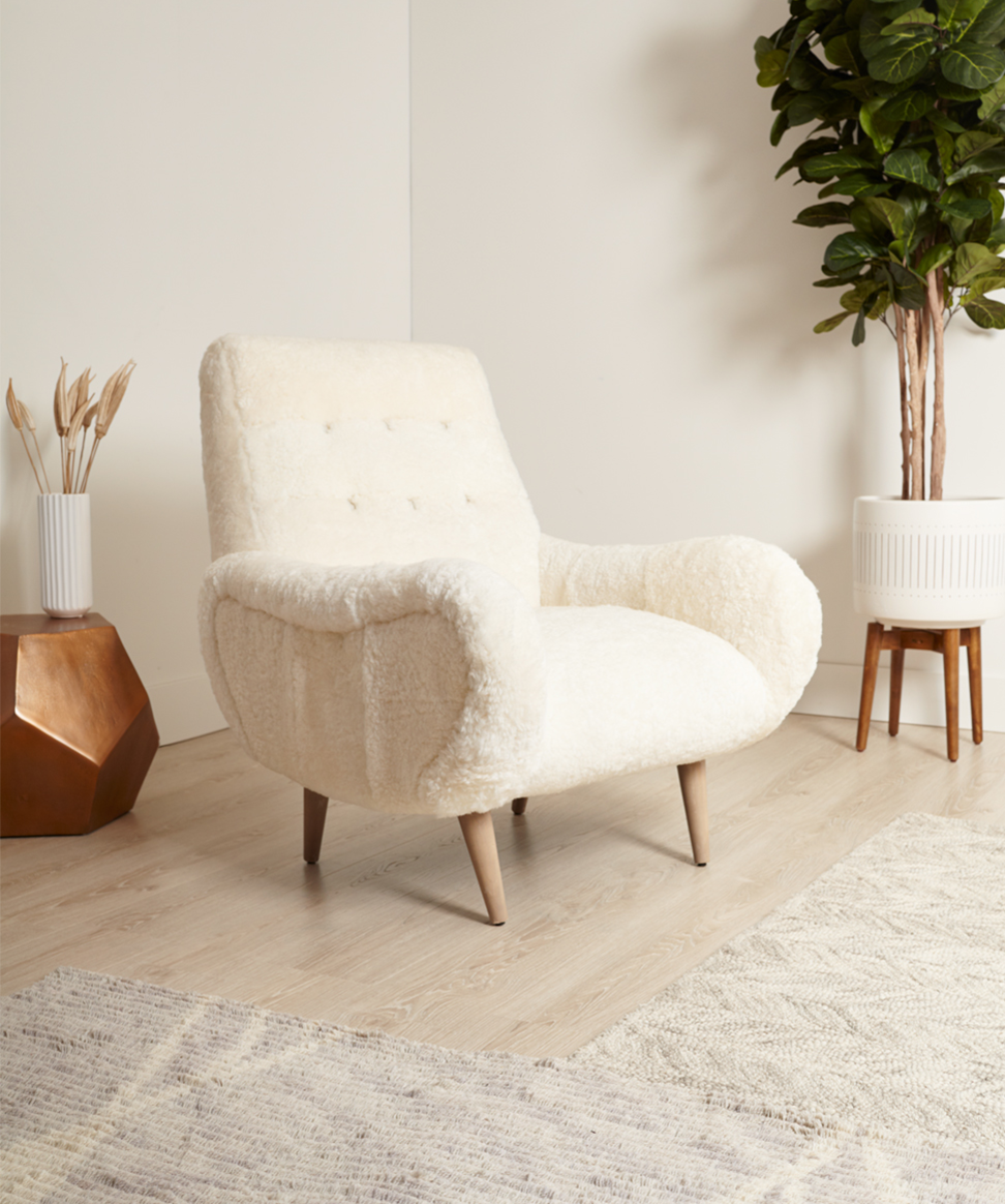 Anthropologie S Wool Losange Chair Is The Most Comfortable